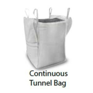 Continuous tunnel Bag